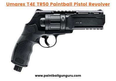 T4E TR50 Paintball Pistol Revolver