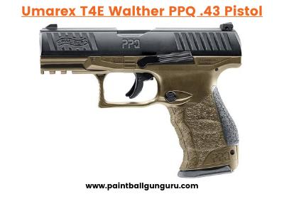 Umarex T4E Walther PPQ .43 Caliber