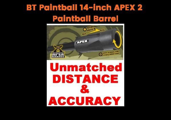 BT Paintball 14-inch APEX 2 - Best Paintball Barrel