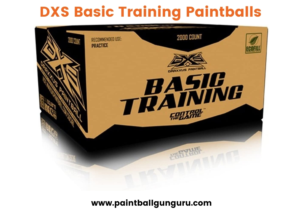 DXS Basic Training Paintballs - Best Paintballs
