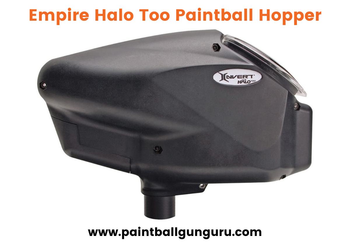 Empire Halo Too Paintball Hopper
