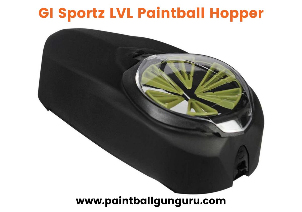 GI Sportz LVL - Best Paintball Hopper