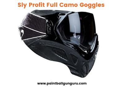 Sly Profit Full Camo Goggles