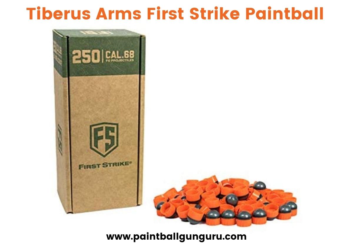 Tiberus Arms First Strike Paintball