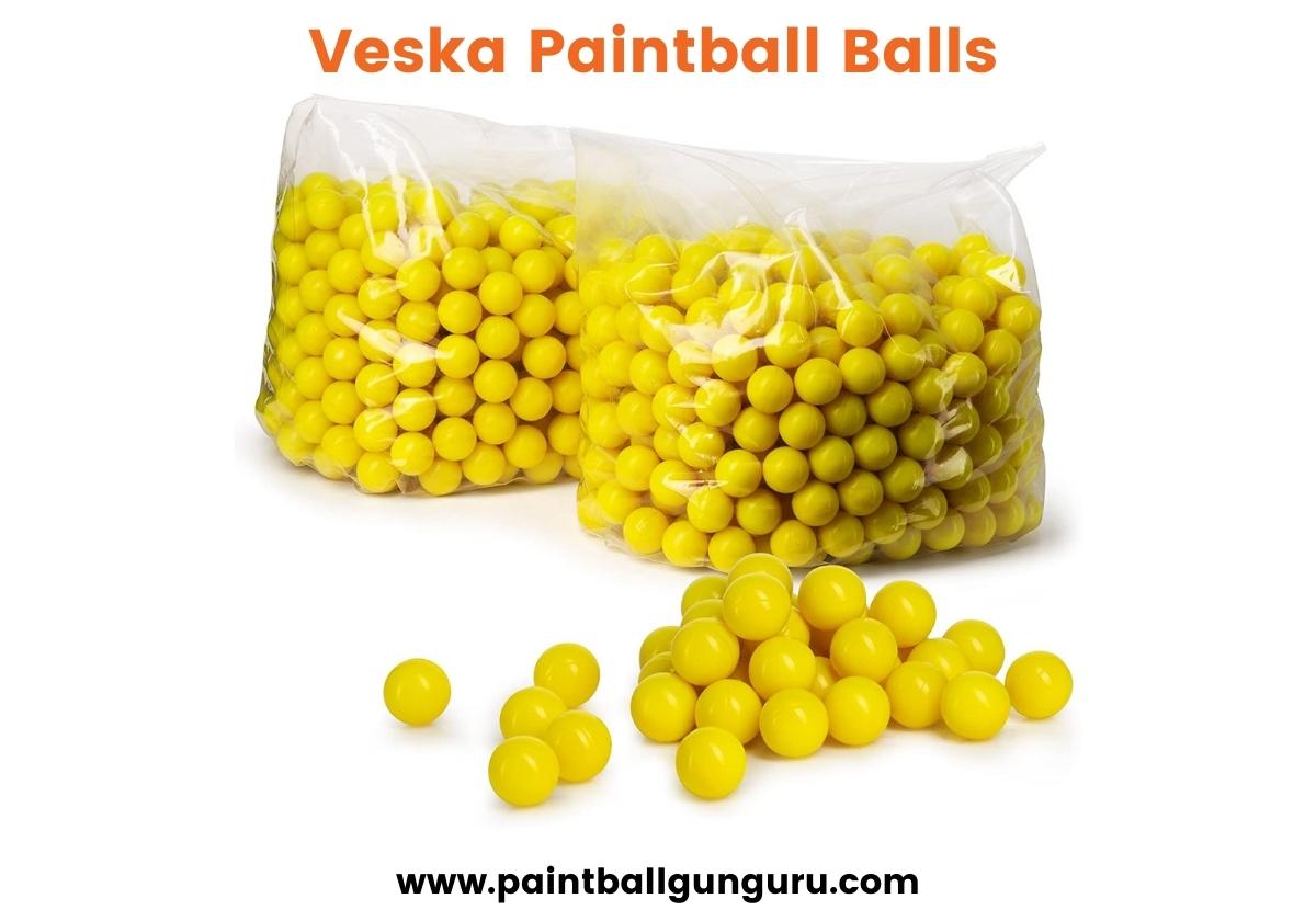 Veska Paintball Balls