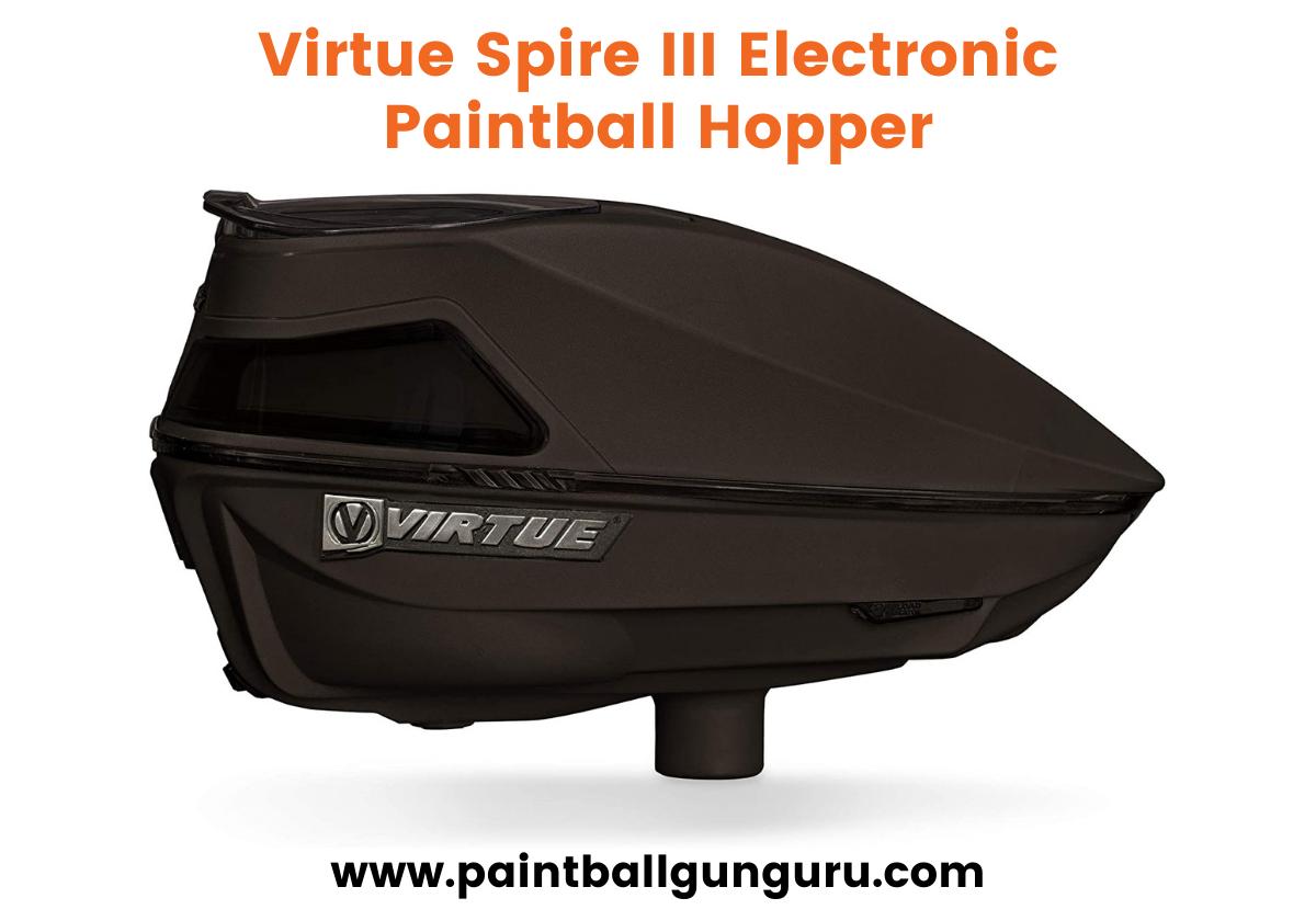 Virtue Spire III Electronic Paintball Hopper
