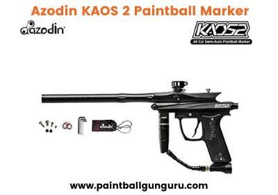 Azodin KAOS 2 Paintball Marker - Best Paintball Gun Under 150