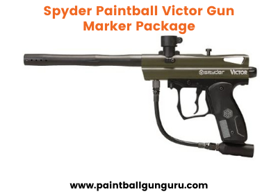 Spyder Paintball Victor Gun Marker Package