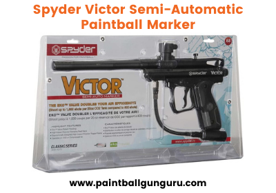 Spyder victor semi-automatic paintball marker - Best Paintball Gun Under 100